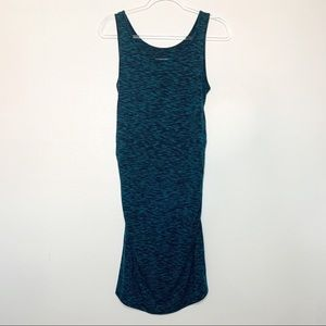 LIZ LANGE Maternity Blue Sleeveless Dress Small